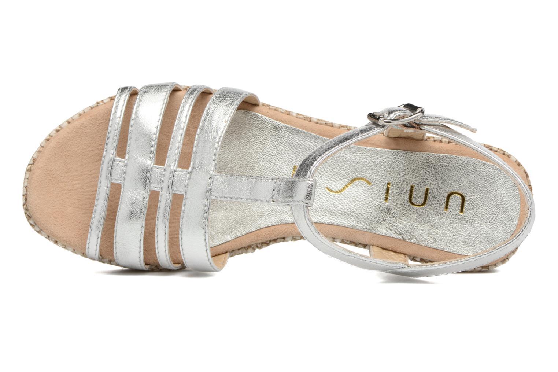 Sandales et nu-pieds Unisa Ticor Argent vue gauche