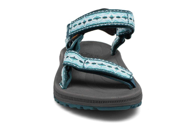 Chaussures de sport Teva Winsted W Vert vue portées chaussures