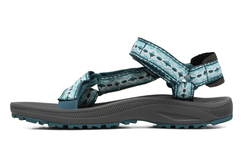 Chaussures de sport Teva Winsted W Vert vue face