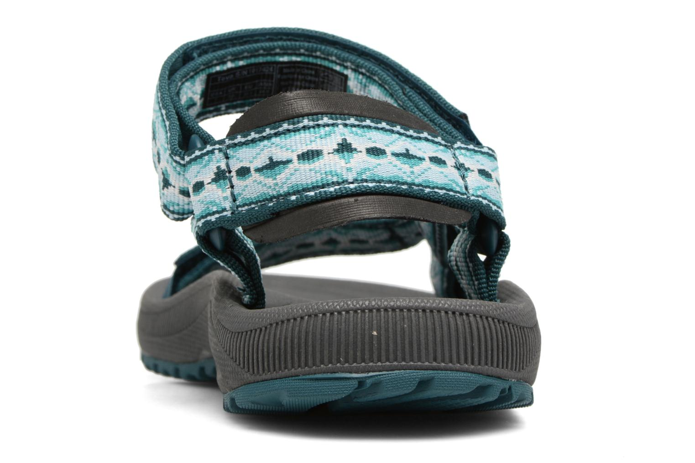 Chaussures de sport Teva Winsted W Vert vue droite