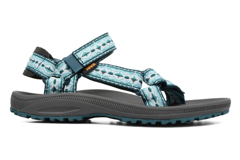 Chaussures de sport Teva Winsted W Vert vue derrière