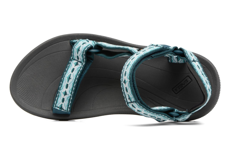 Chaussures de sport Teva Winsted W Vert vue gauche