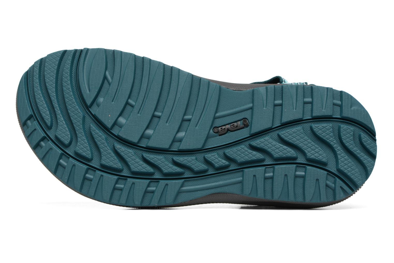Chaussures de sport Teva Winsted W Vert vue haut