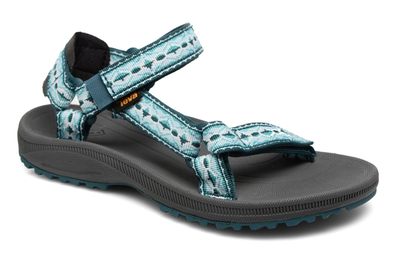 Chaussures de sport Teva Winsted W Vert vue détail/paire
