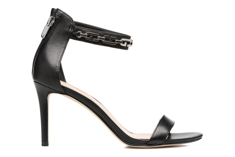 Sandales et nu-pieds Guess Charlet Noir vue derrière