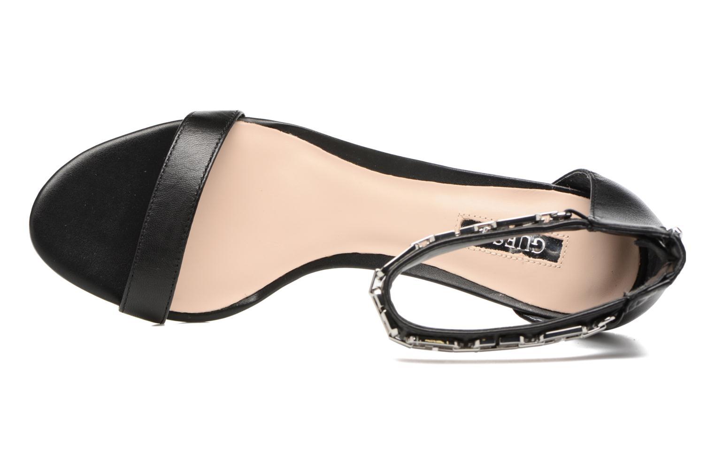 Sandales et nu-pieds Guess Charlet Noir vue gauche