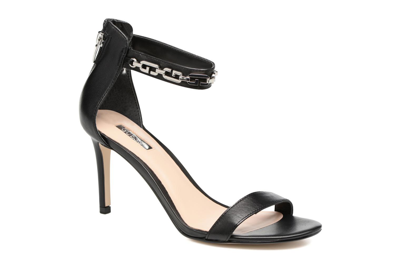 Sandales et nu-pieds Guess Charlet Noir vue détail/paire