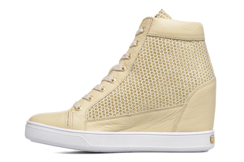 Sneakers Guess Furia Oro e bronzo immagine frontale