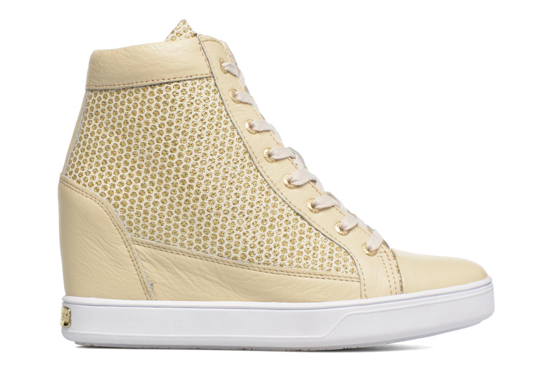 Sneakers Guess Furia Oro e bronzo immagine posteriore