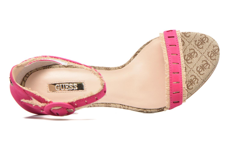 Zapatos de hombre y mujer de promoción por tiempo limitado Guess Petra (Rosa) - Sandalias en Más cómodo