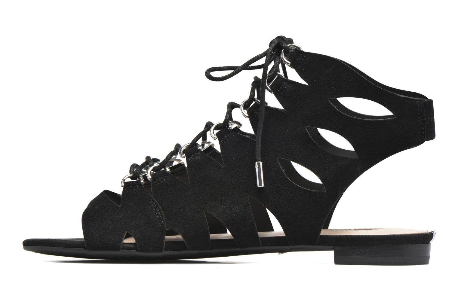 Sandals Guess Rosela2 Black front view