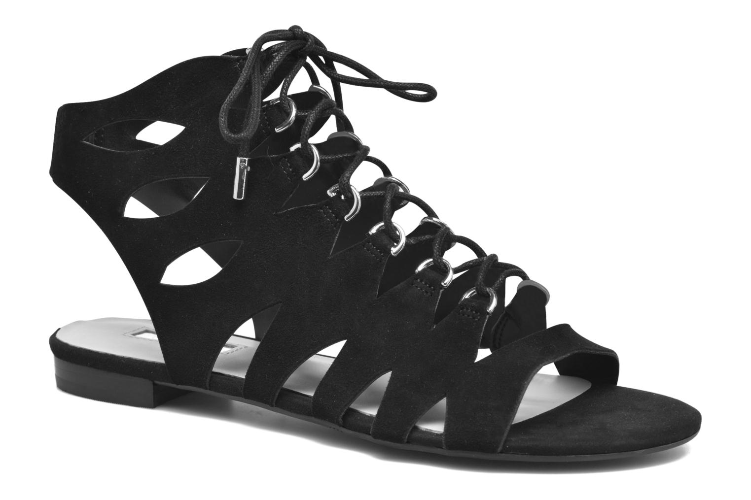 Sandals Guess Rosela2 Black detailed view/ Pair view