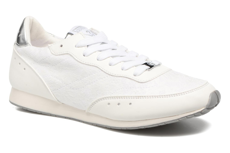 Baskets Guess Sunny Blanc vue détail/paire