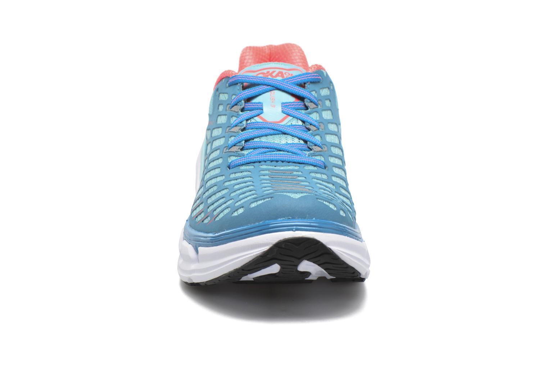 Chaussures de sport Hoka One One Vanquish 3 W Bleu vue portées chaussures