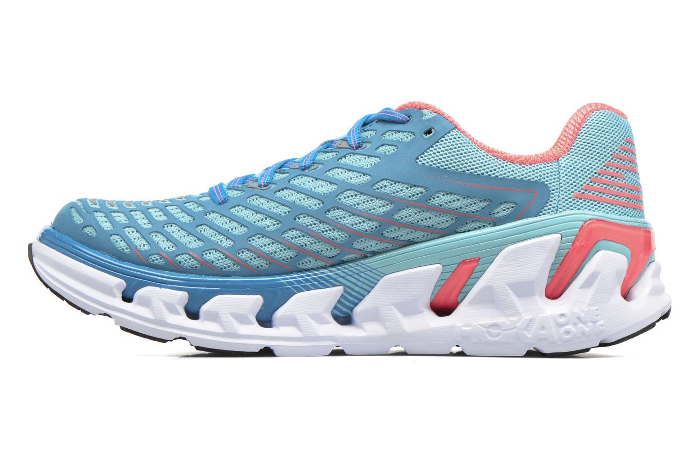 Chaussures de sport Hoka One One Vanquish 3 W Bleu vue face