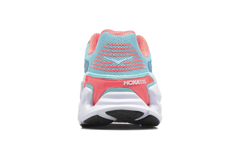 Chaussures de sport Hoka One One Vanquish 3 W Bleu vue droite