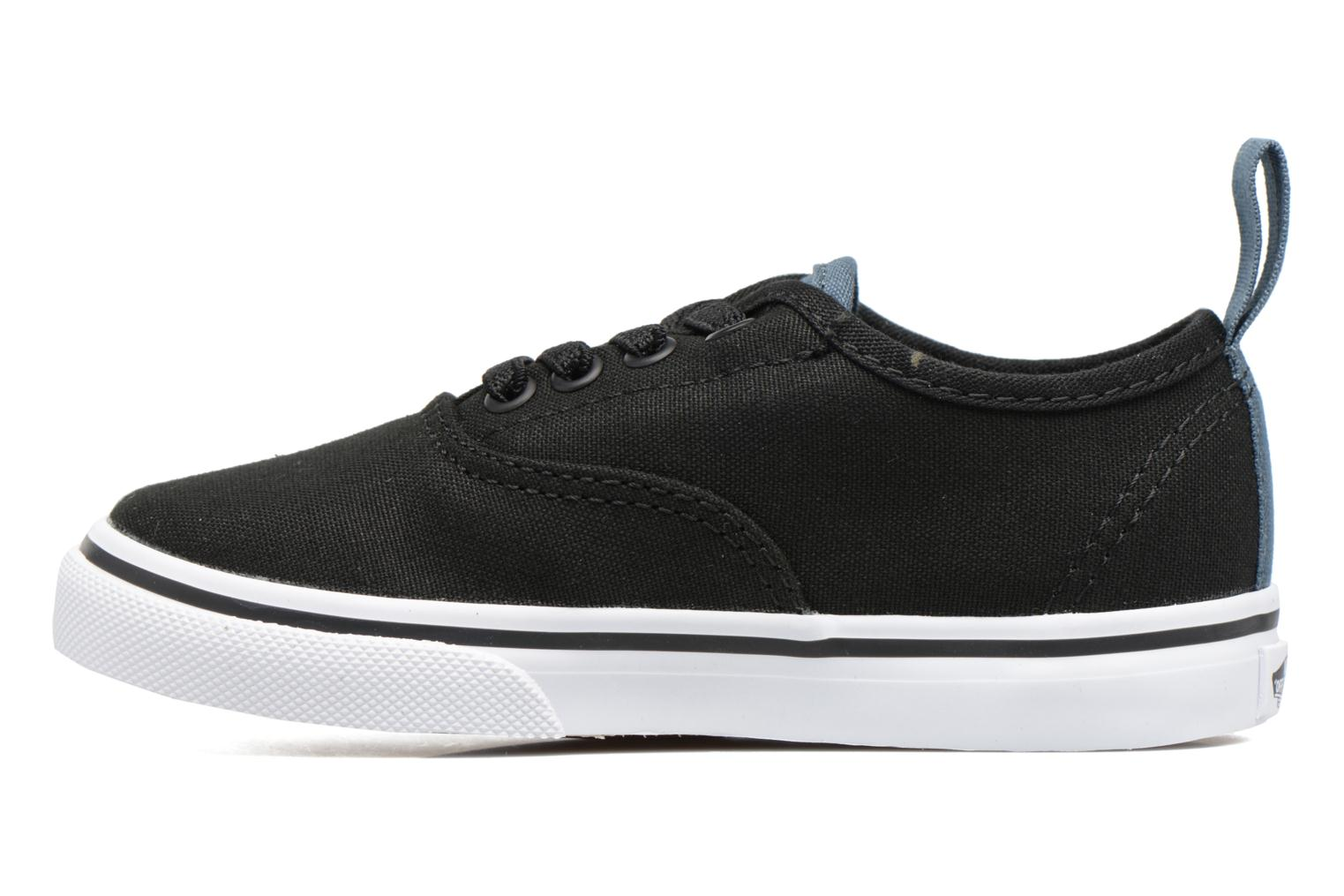 Baskets Vans Authentic Elastic Lace BB Noir vue face