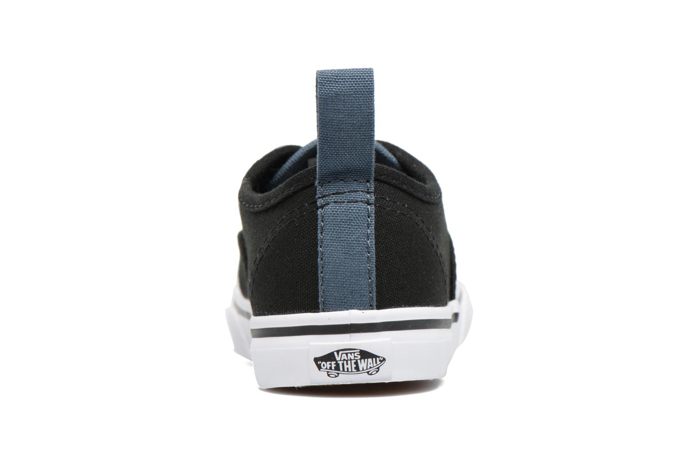 Sneakers Vans Authentic Elastic Lace BB Nero immagine destra