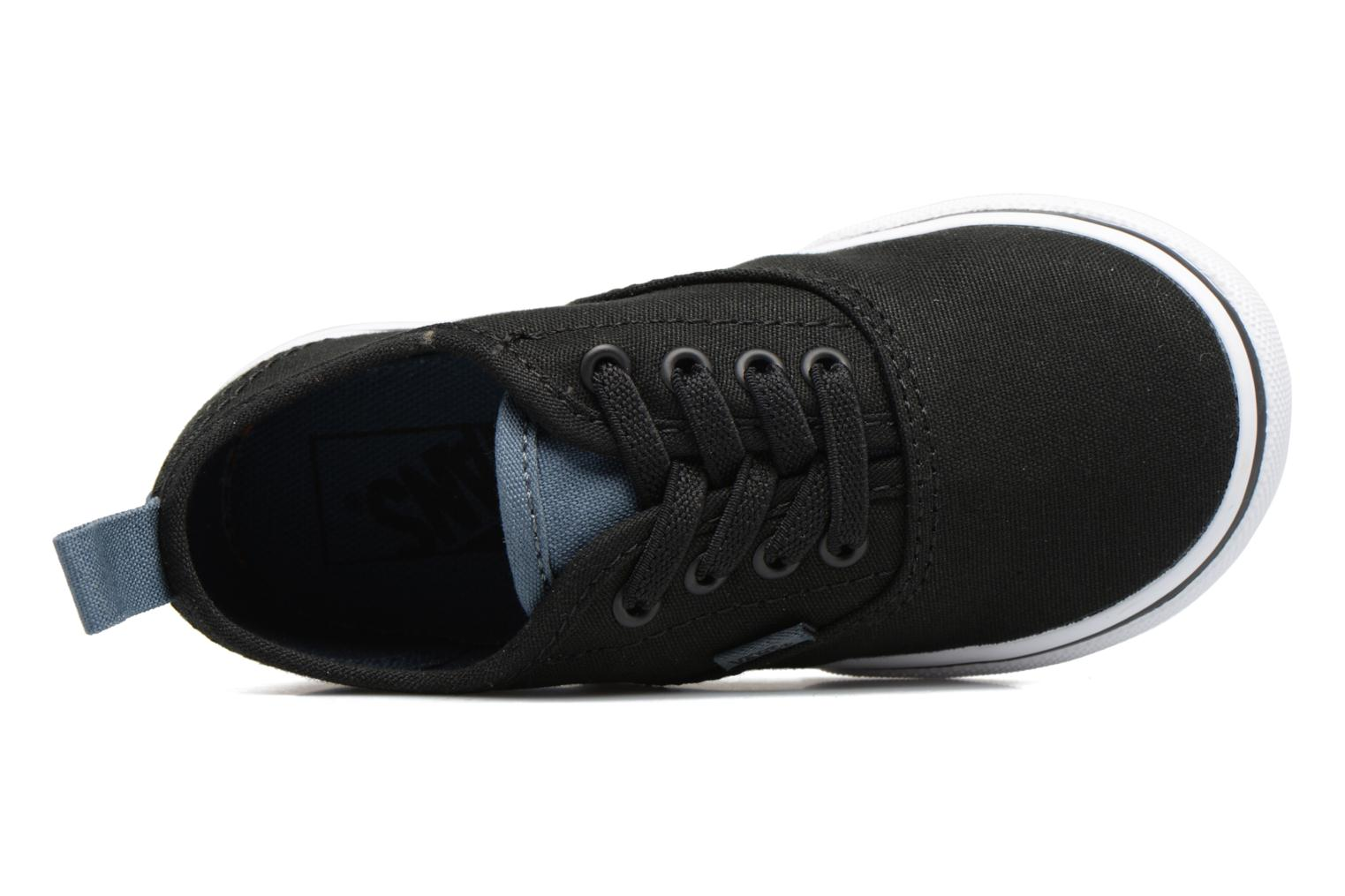 Baskets Vans Authentic Elastic Lace BB Noir vue gauche