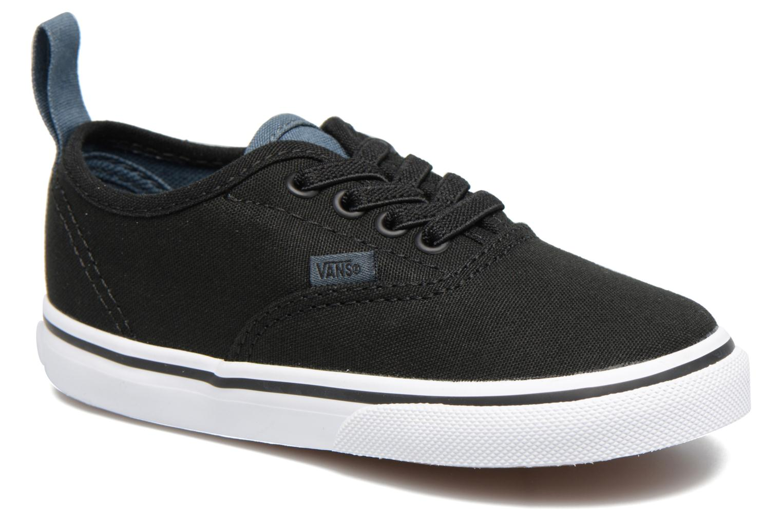 Baskets Vans Authentic Elastic Lace BB Noir vue détail/paire
