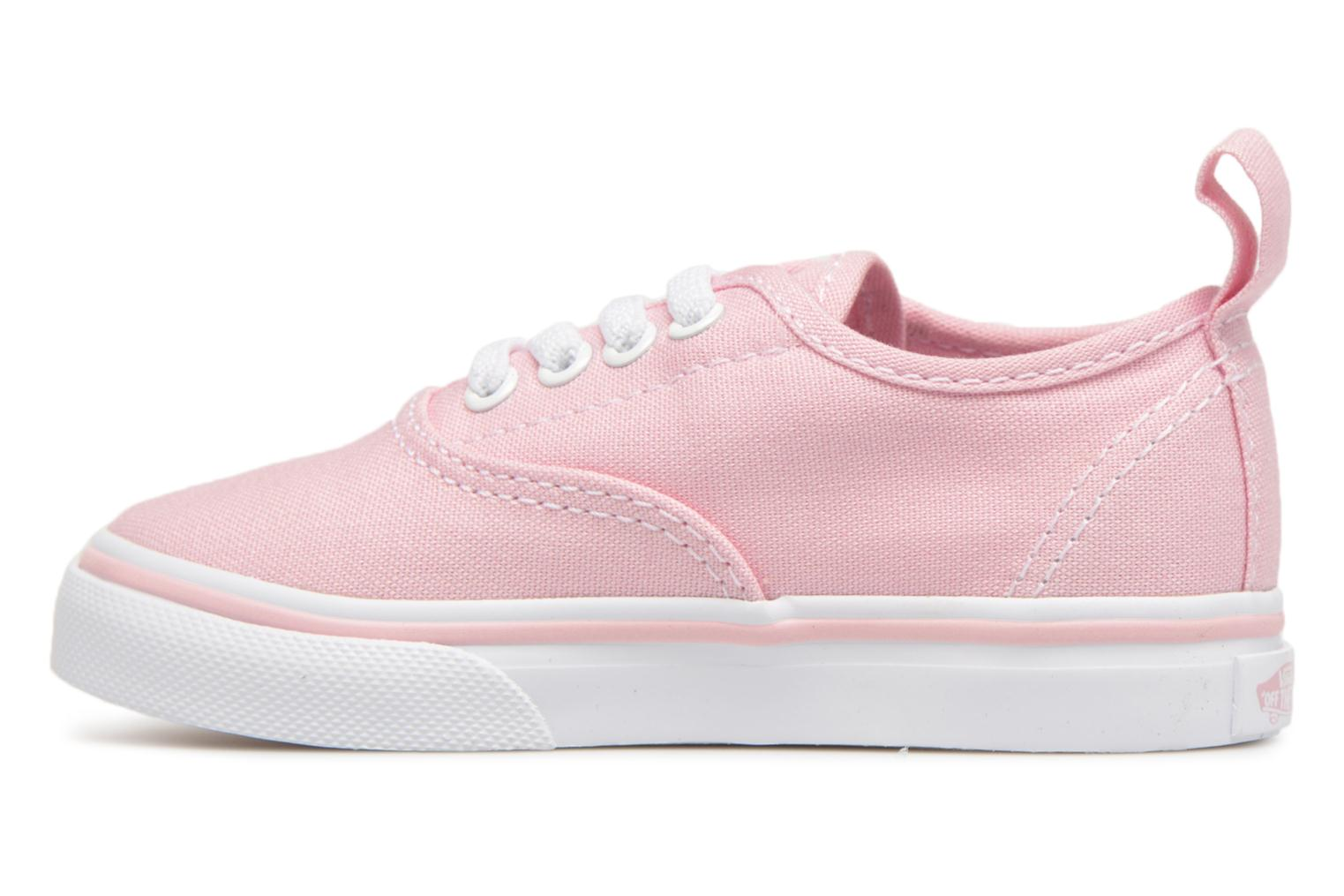 Baskets Vans Authentic Elastic Lace BB Rose vue face