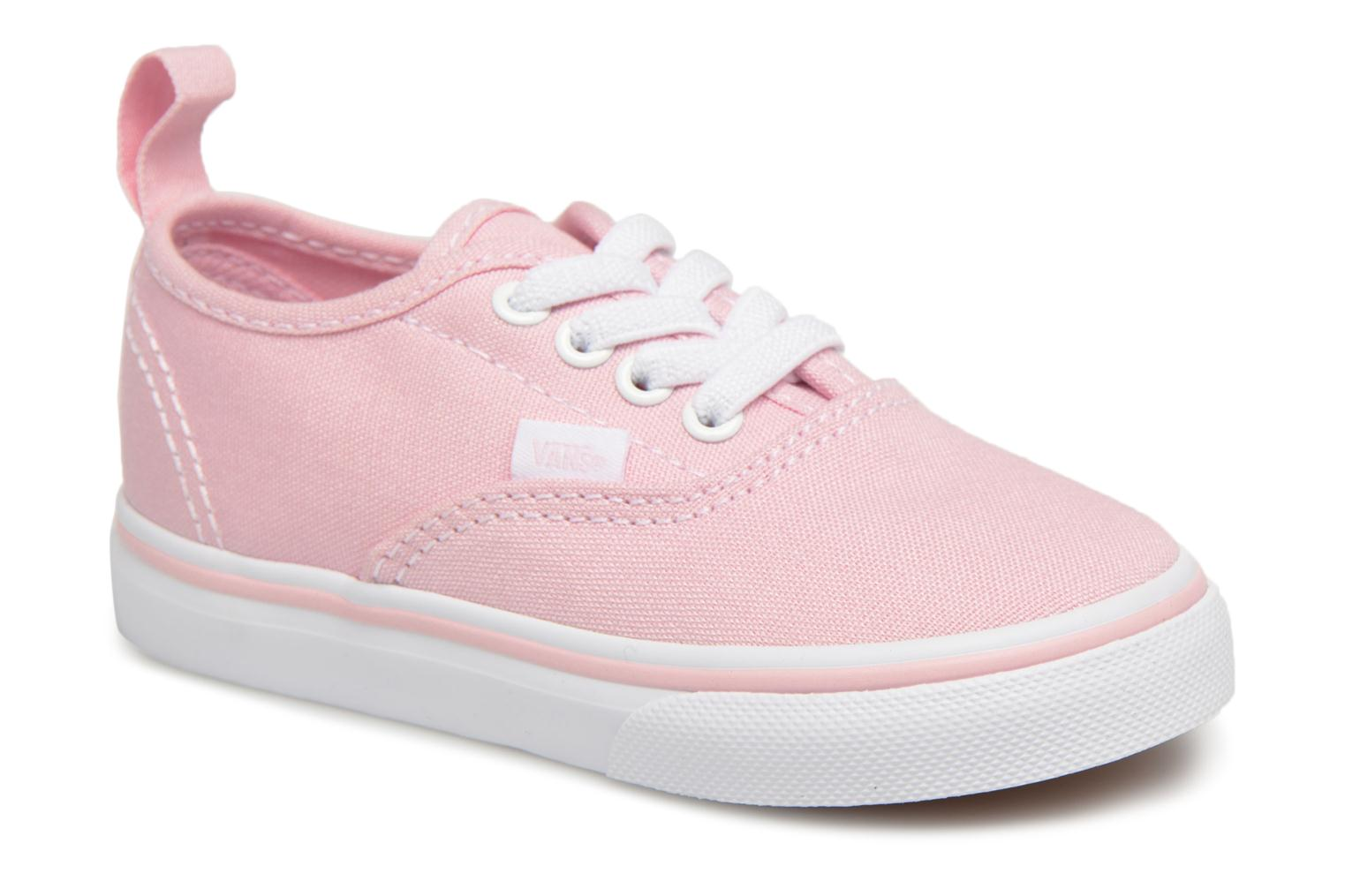 Baskets Vans Authentic Elastic Lace BB Rose vue détail/paire