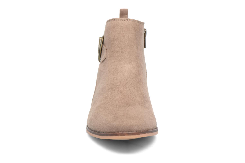 Bottines et boots Dorothy Perkins Mary Marron vue portées chaussures