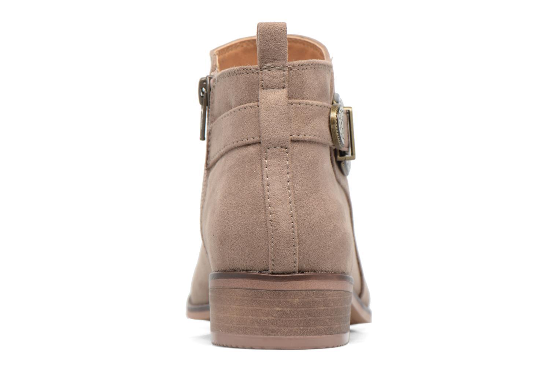 Bottines et boots Dorothy Perkins Mary Marron vue droite