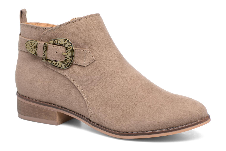 Bottines et boots Dorothy Perkins Mary Marron vue détail/paire