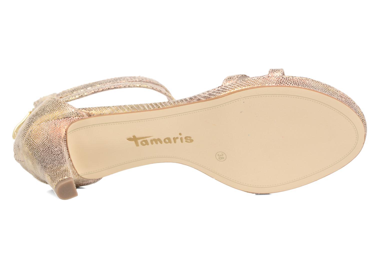 Sandali e scarpe aperte Tamaris Lepanthès Oro e bronzo immagine dall'alto