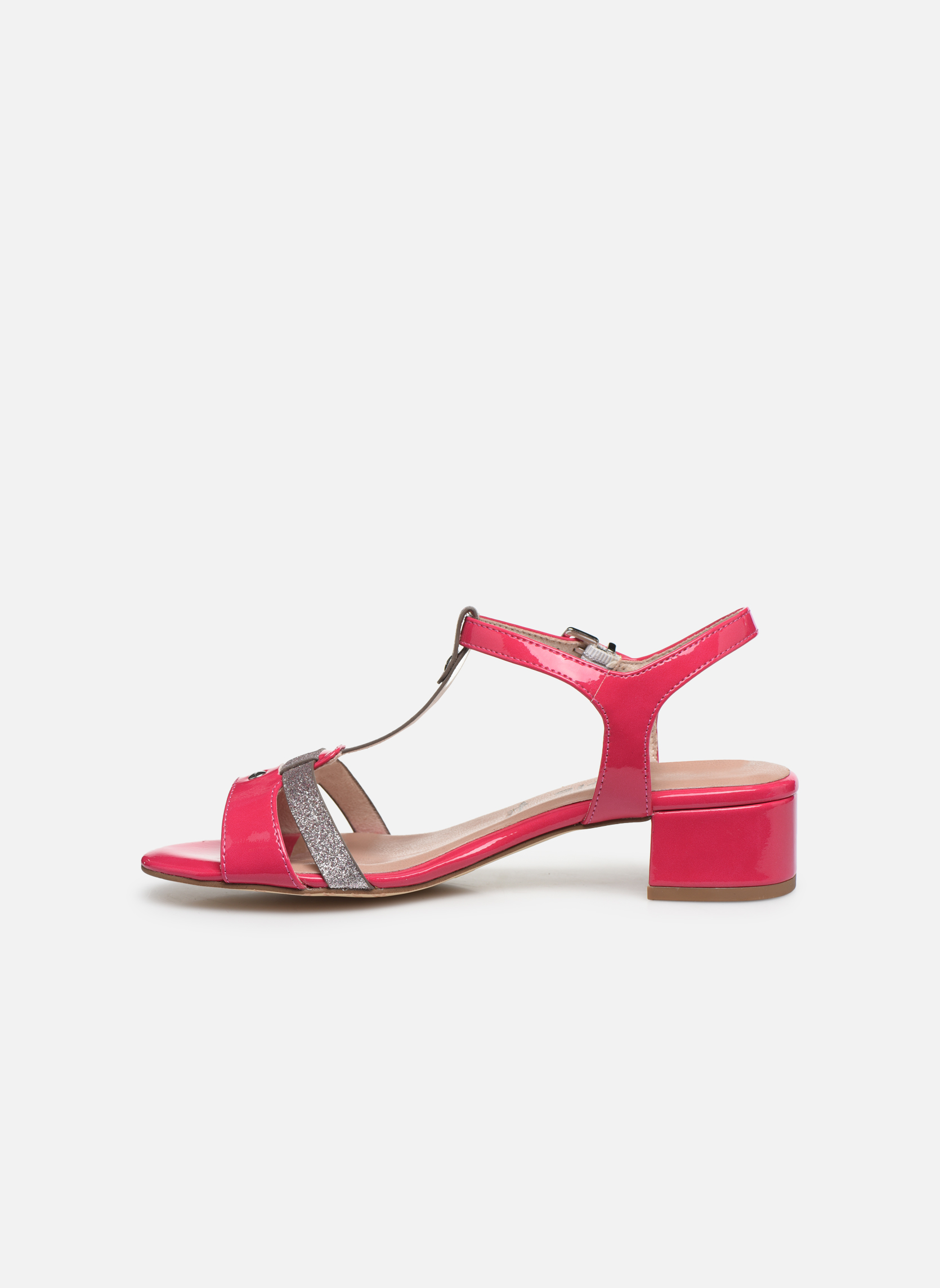 Sandales et nu-pieds Tamaris Gunnera Rose vue face