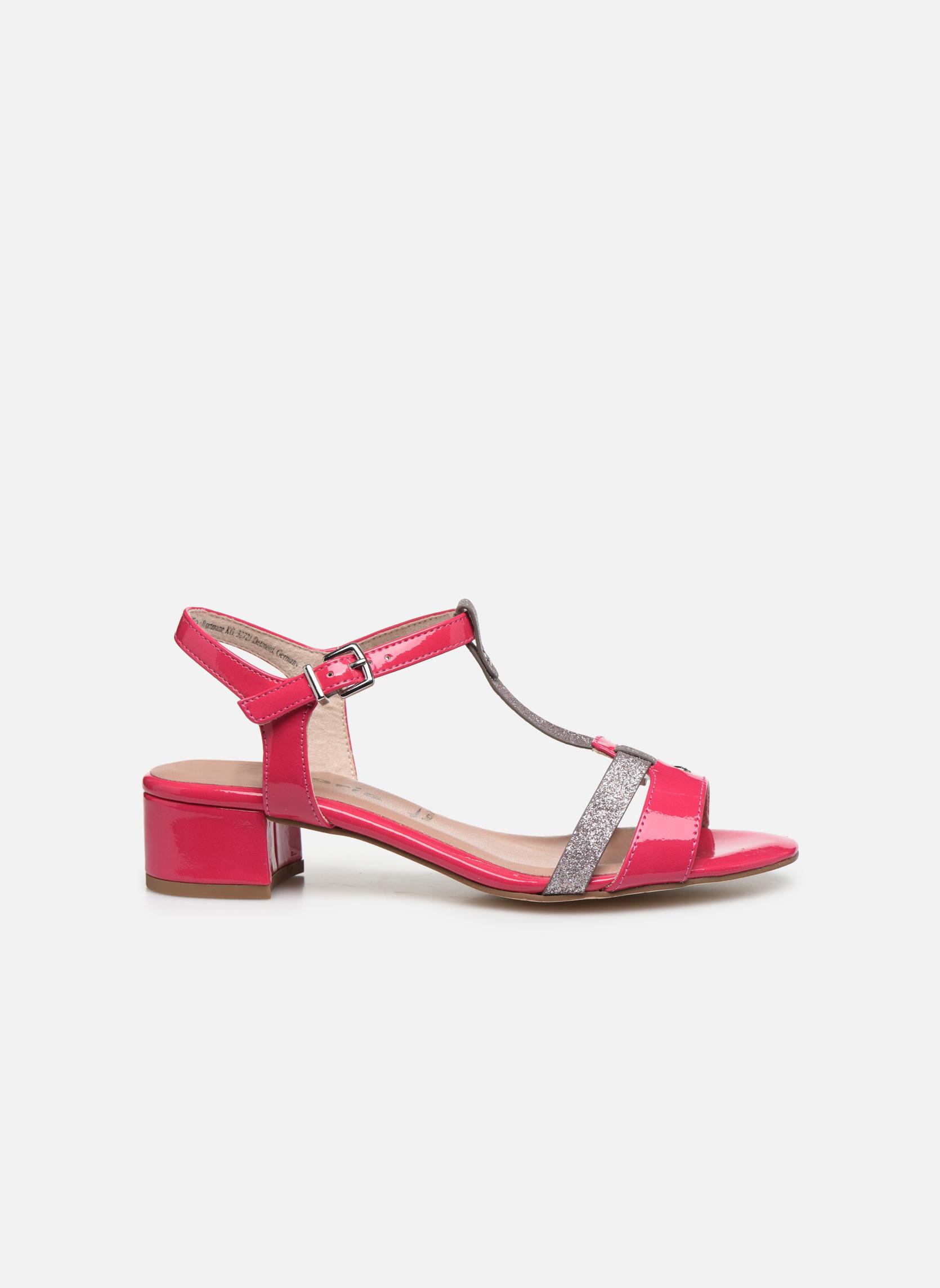 Sandales et nu-pieds Tamaris Gunnera Rose vue derrière