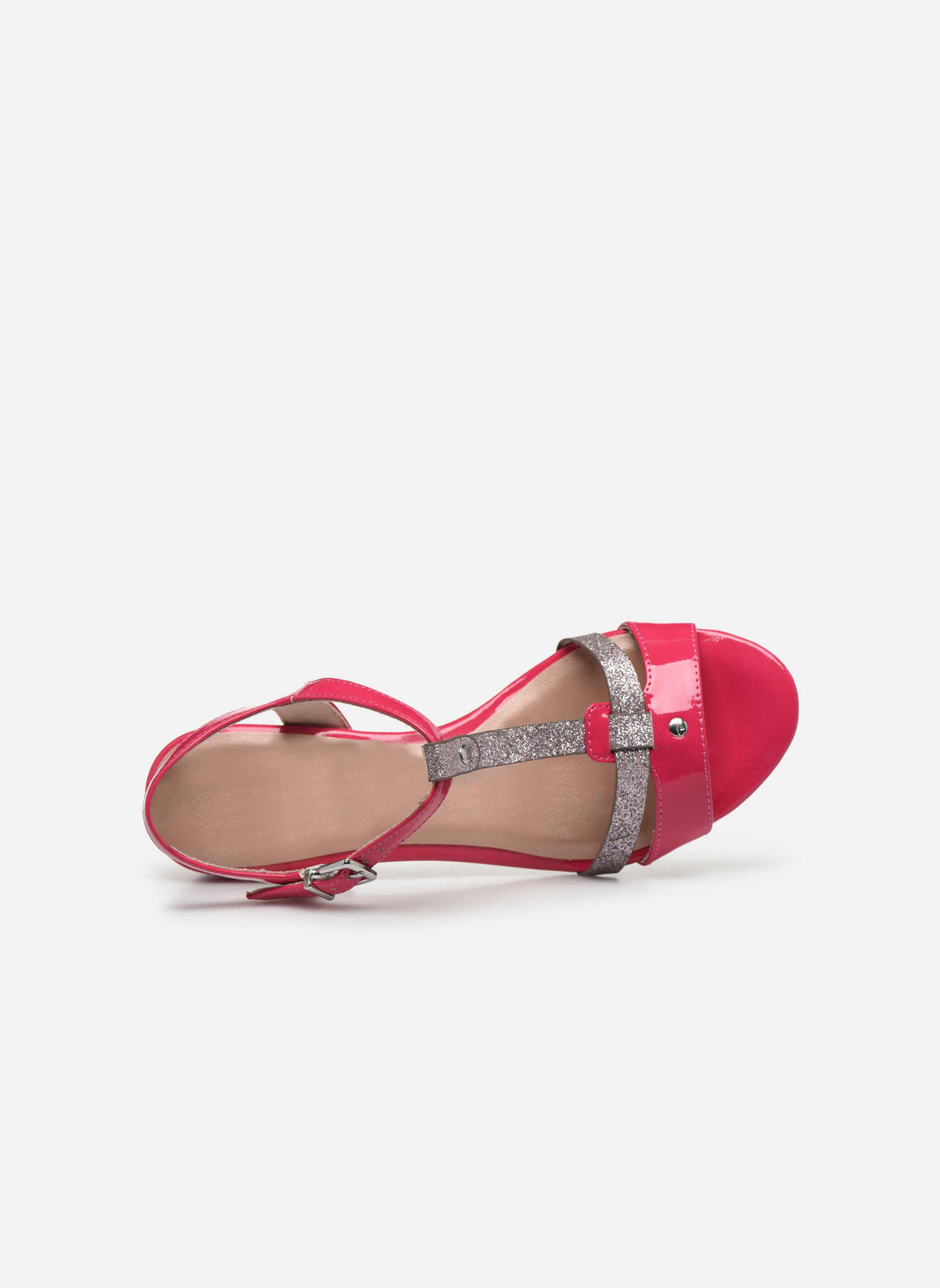 Sandales et nu-pieds Tamaris Gunnera Rose vue gauche