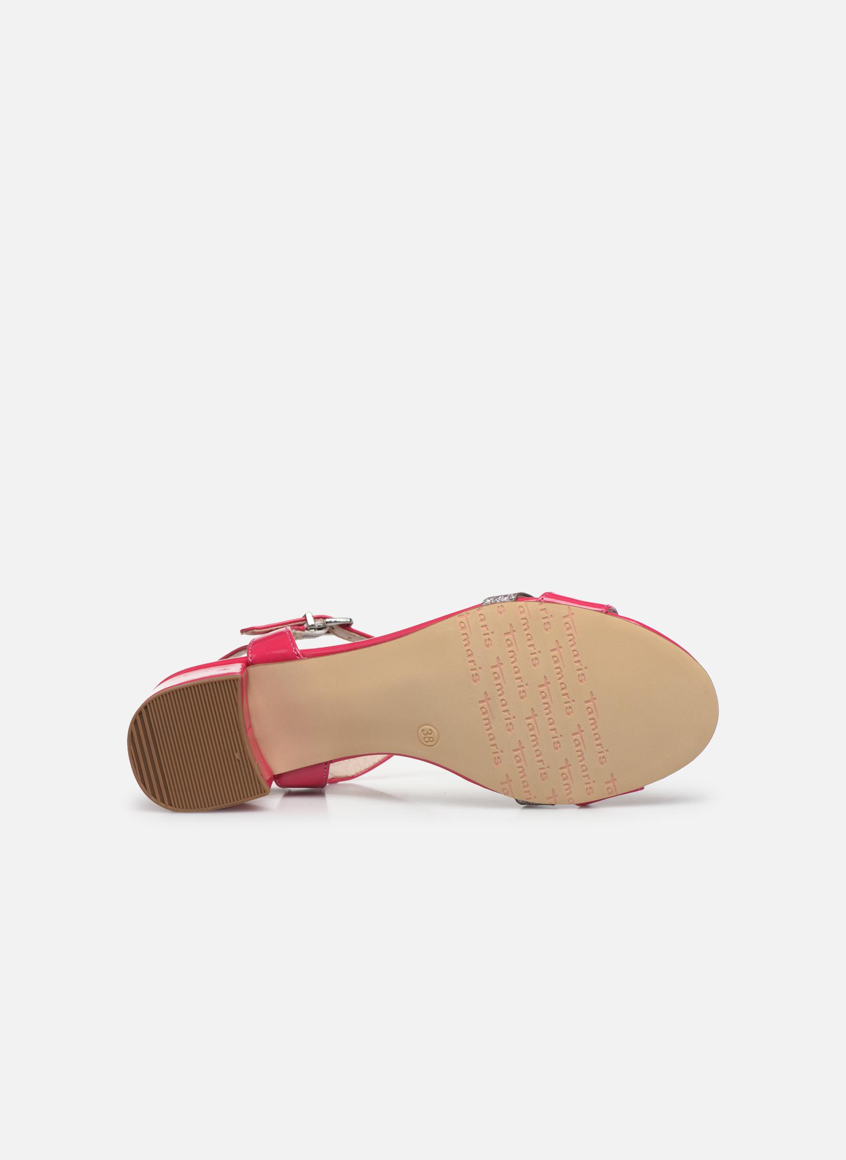 Sandales et nu-pieds Tamaris Gunnera Rose vue haut