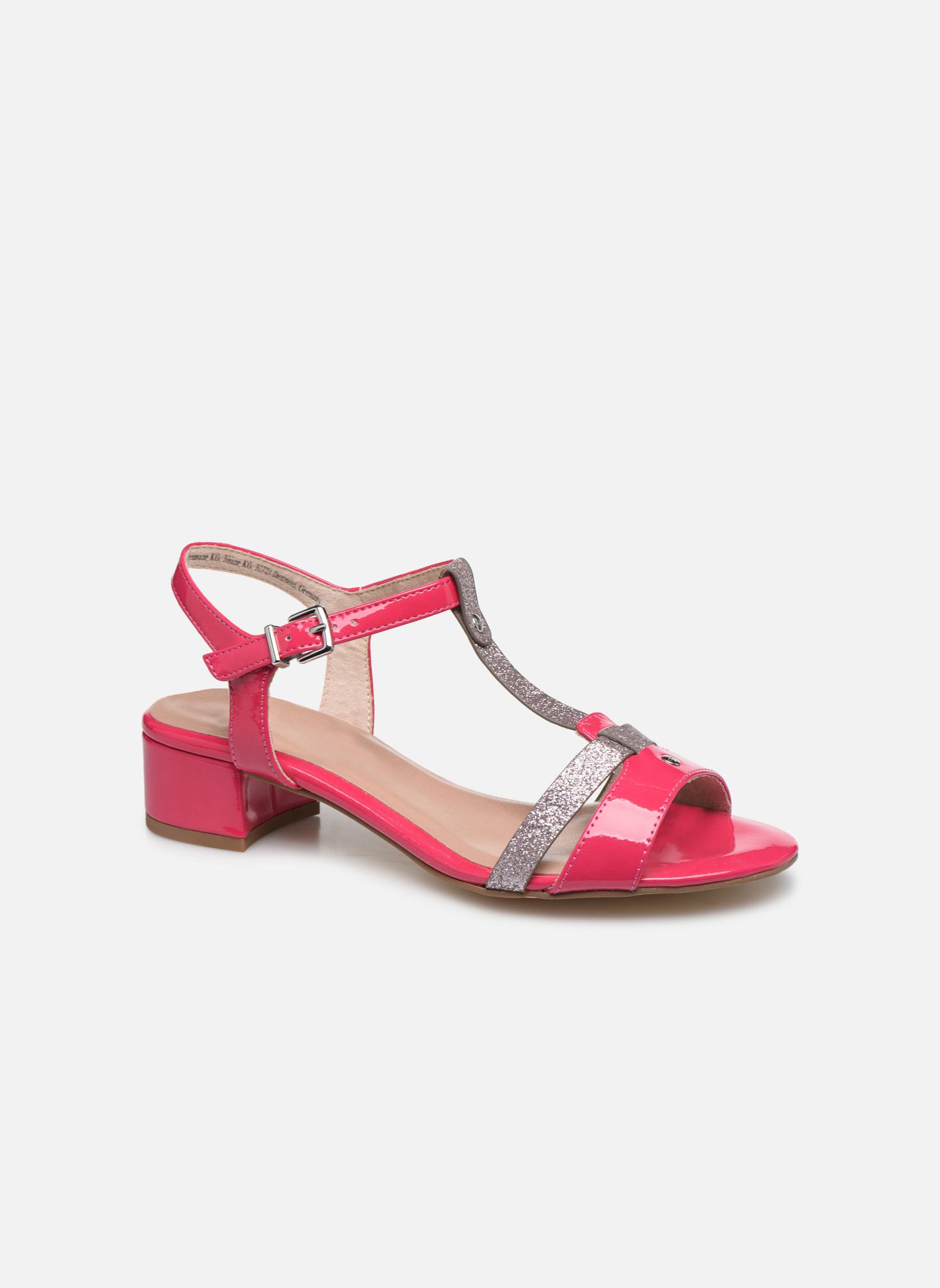 Sandales et nu-pieds Tamaris Gunnera Rose vue détail/paire