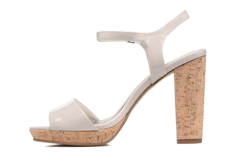 Sandales et nu-pieds Tamaris Pellaea Gris vue face