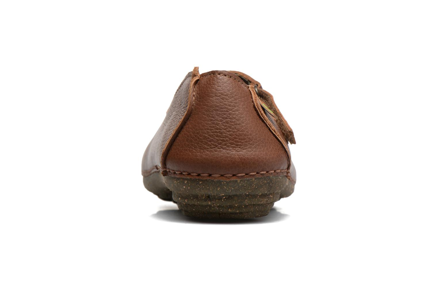 Ballet pumps El Naturalista Torcal N376 Brown view from the right