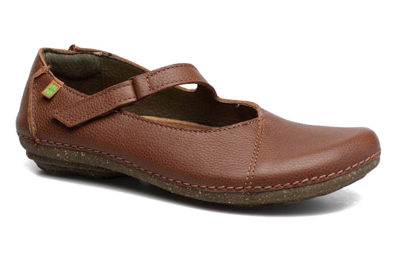 Los últimos zapatos de hombre y mujer El Naturalista Torcal N376 (Marrón) - Bailarinas en Más cómodo