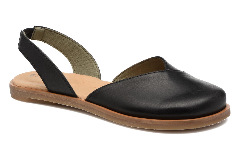Sandales et nu-pieds El Naturalista Tulip NF38 Noir vue détail/paire