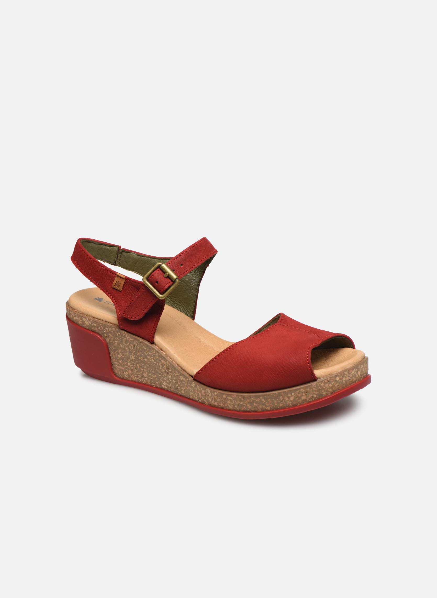 Zapatos promocionales El Naturalista Leaves N5000 (Rojo) - Sandalias   Venta de liquidación de temporada