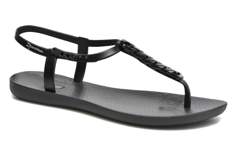 Tongs Ipanema Charm IV Sandal Noir vue détail/paire