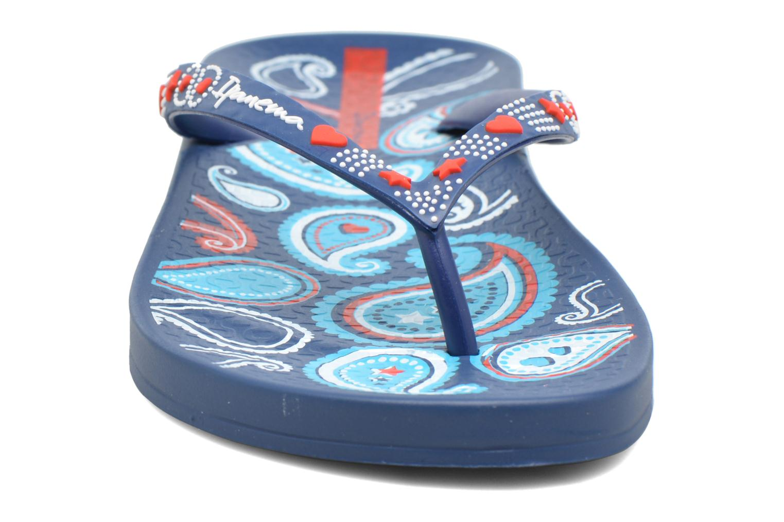 Flip flops Ipanema Anatomic Lovely VII Blue model view