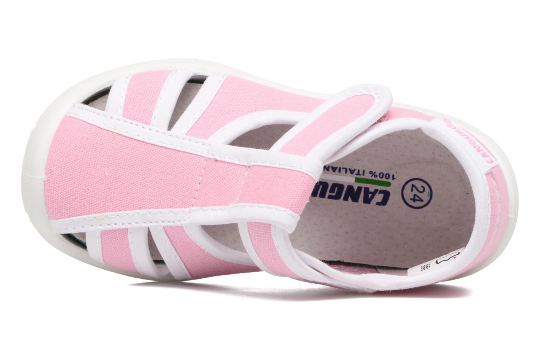 Sandales et nu-pieds Canguro New Born Lola Rose vue gauche