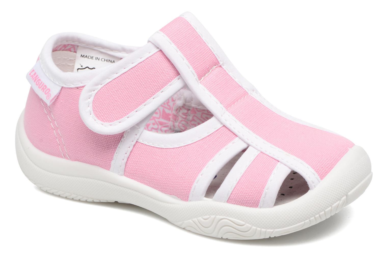 Sandales et nu-pieds Canguro New Born Lola Rose vue détail/paire