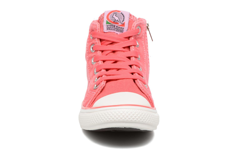 Baskets Canguro Midcut Shoes Tom Rose vue portées chaussures