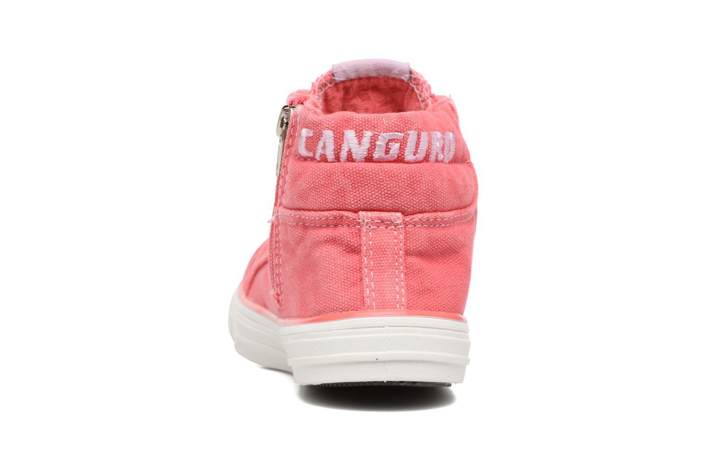 Baskets Canguro Midcut Shoes Tom Rose vue droite