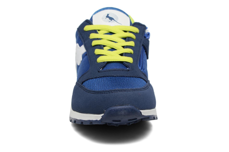Baskets Canguro Boy/Girl'S Casual Shoes Size Bleu vue portées chaussures