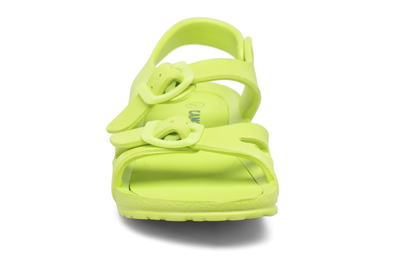 Sandales et nu-pieds Canguro Beach Sandals Vert vue portées chaussures