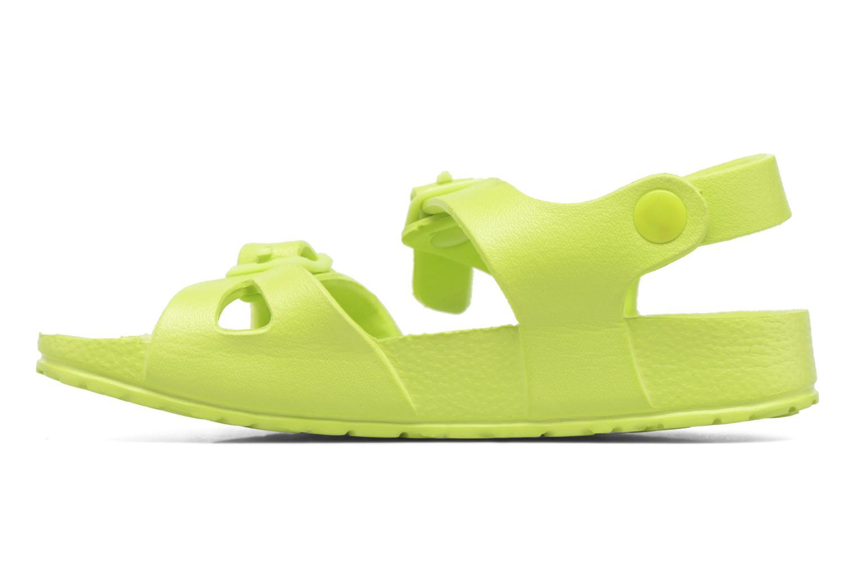 Sandales et nu-pieds Canguro Beach Sandals Vert vue face