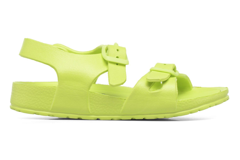 Sandales et nu-pieds Canguro Beach Sandals Vert vue droite